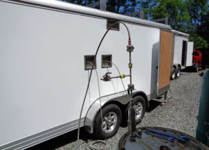 natural gas odorizer trailer