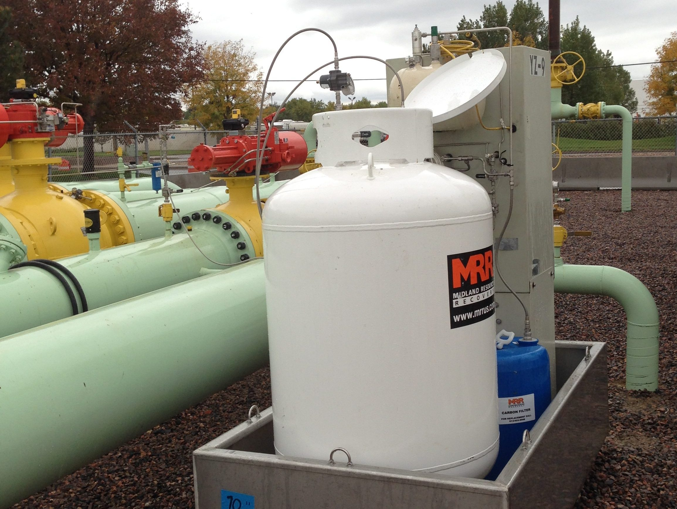 Natural Gas Odorant Injection Equipment Leases Odorizer